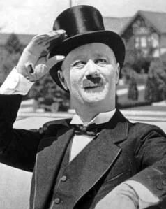 Comedian Ben Turpin in 1914.