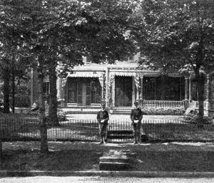McKinley Home, circa 1901.