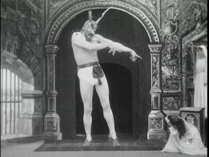 Devil and the Statue