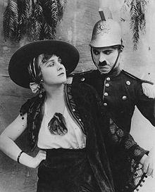 Burlesque on carmen