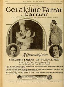 Carmen_1915 Poster