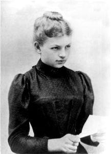 Clara Hagen (nee Immerwahr), the first female PhD in Chemistry