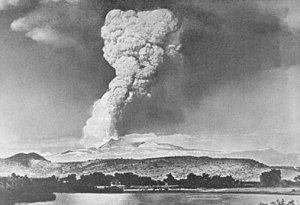 Eruption of Lassen Peak.