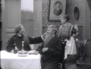 Gentlemen, I'm afraid your beard must wait outside.