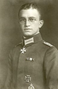 World War One flying ace Kurt Wintgens