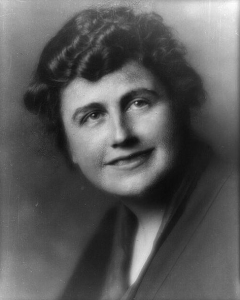 First female President of the US? Edith Wilson nee Galt