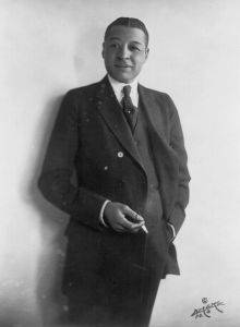 Bert Williams out of makeup.
