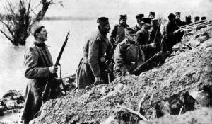 Serbian Infantrymen.