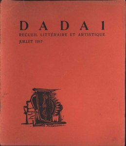 "Cover of the 1917 publication ""Dada"""