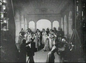 Alice Guy Films a Phonscene
