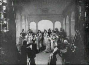 Alice Guy Films a Phonscene