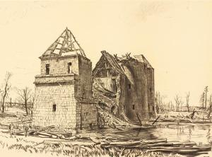 By Bone, Muirhead (artist), The War Office  from the collections of the Imperial War Museums., Public Domain