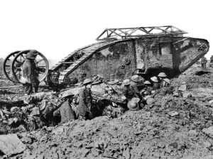 British Tank at the Somme, Sept 1916