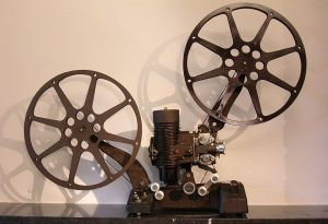 A Bell & Howell projector