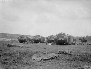 Mark I Tanks on September 15, 1916