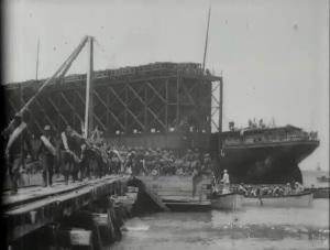 US Troops Landing at Daiquiri