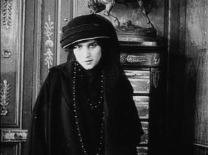 A grieving widow.